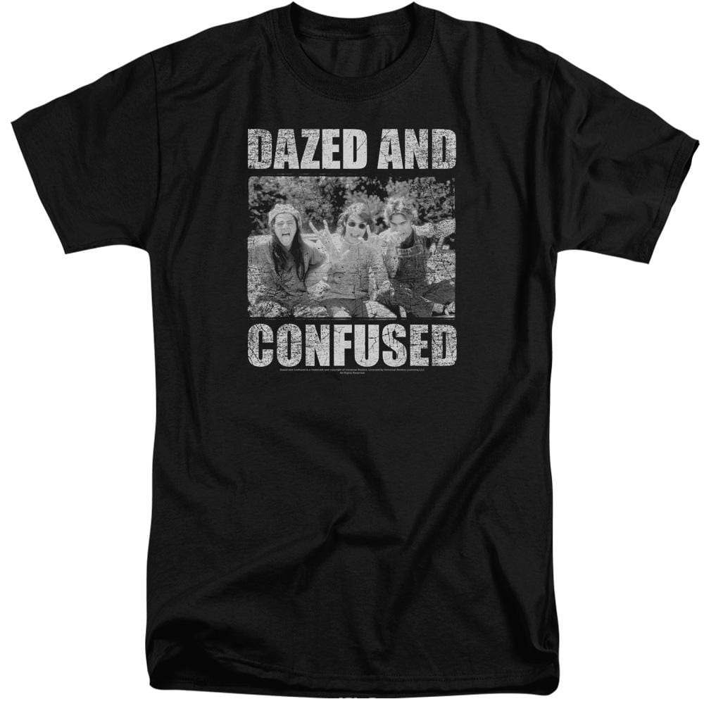 Dazed And Confused Rock On Adult Tri-Blend T-Shirt