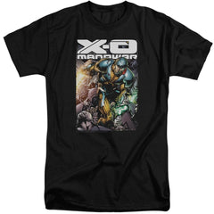 Xo Manowar Pit Adult Tri-Blend T-Shirt