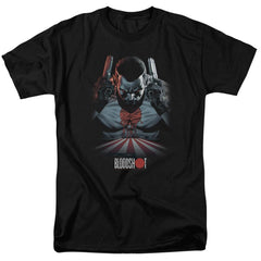 Bloodshot Blood Lines Adult Regular Fit T-Shirt