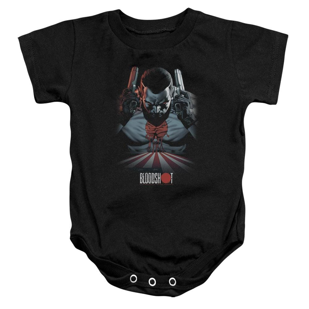 Bloodshot Blood Lines Baby Onesie