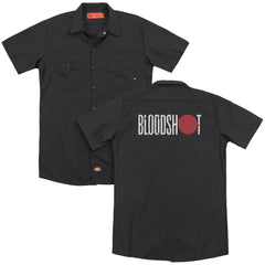 Bloodshot Logo Adult Work Shirt