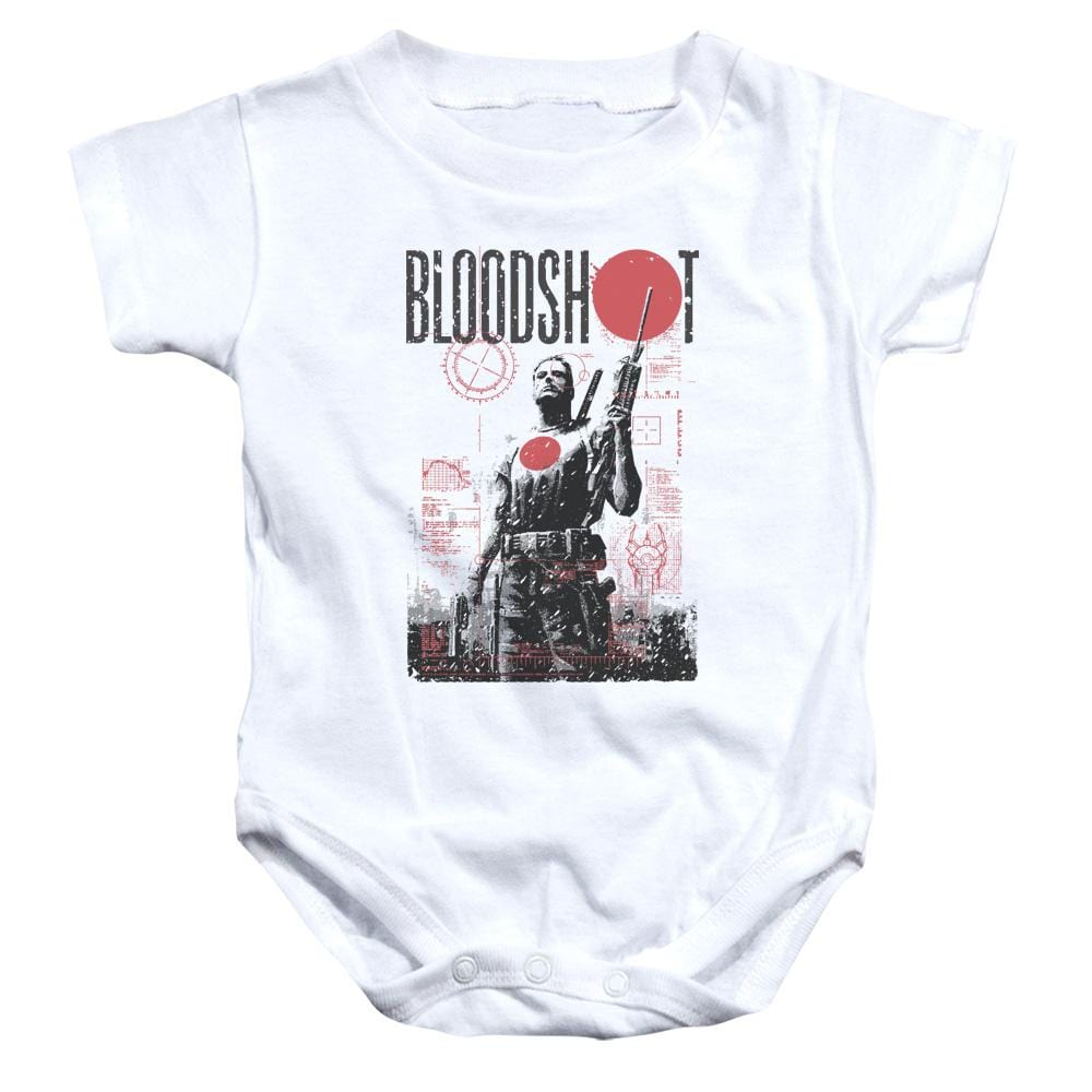 Bloodshot Death By Tech Baby Onesie