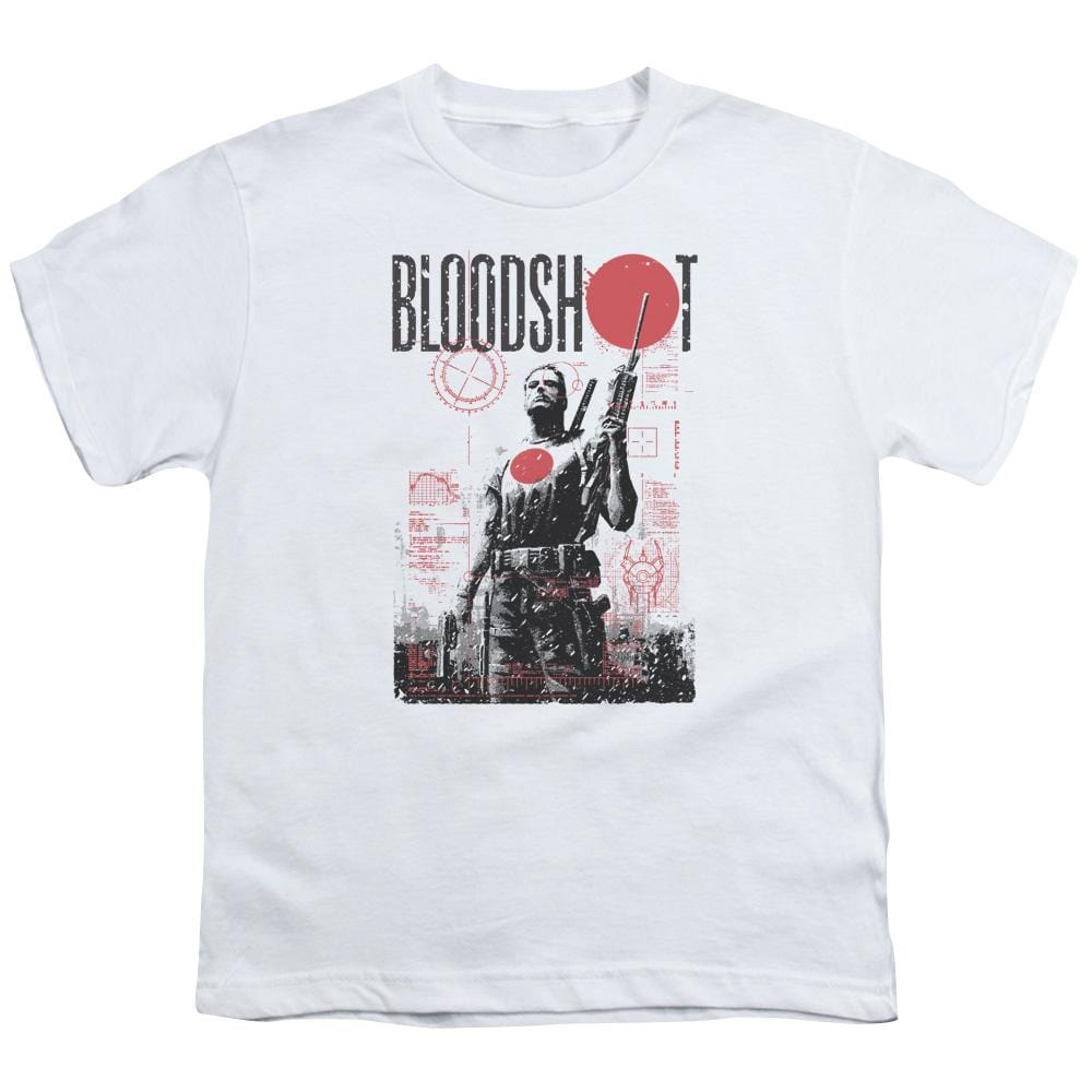 Bloodshot Death By Tech Youth T-Shirt
