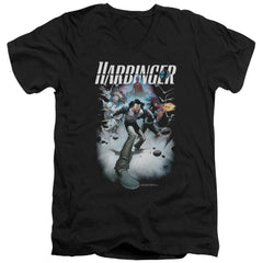 Harbinger 12 Adult V Neck T-Shirt