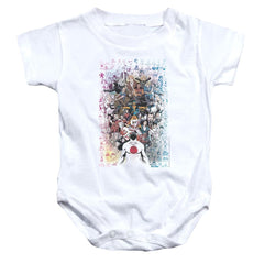 Valiant Everybodys Here Baby Onesie