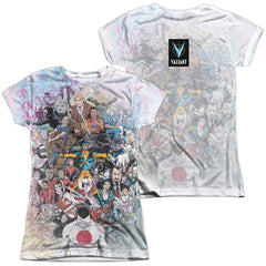 Valiant All Accounted For Junior All Over Print 100% Poly T-Shirt