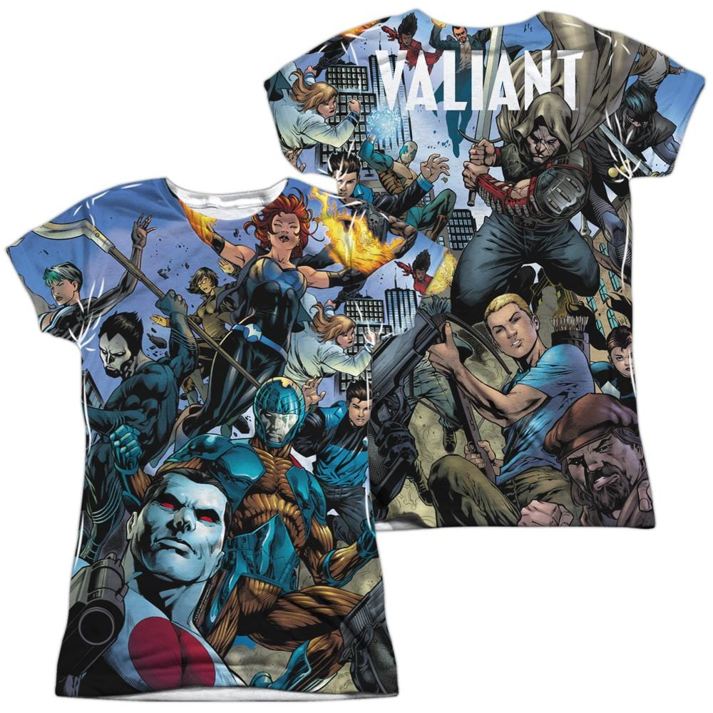 Valiant Universe Junior All Over Print 100% Poly T-Shirt