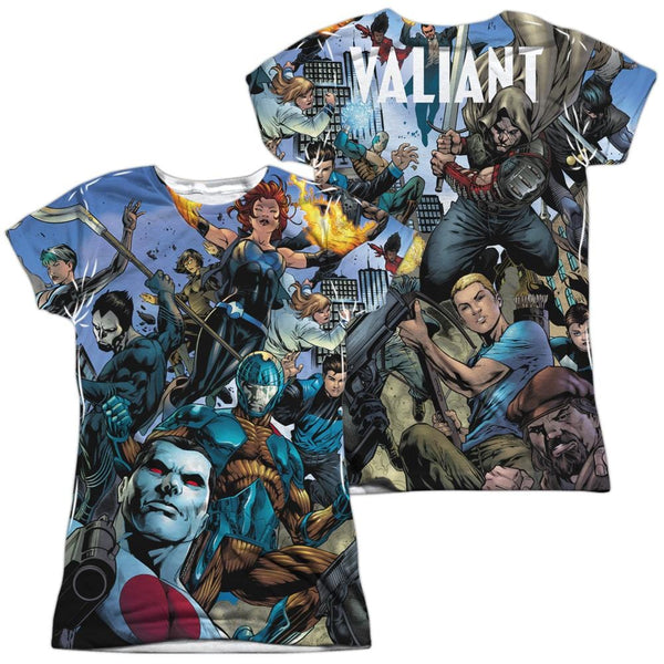Valiant Free Comic Book Day: Valiant Universe Junior All Over Print 100% Poly T-Shirt