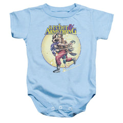 Archer & Armstrong Vintage A & A Baby Onesie