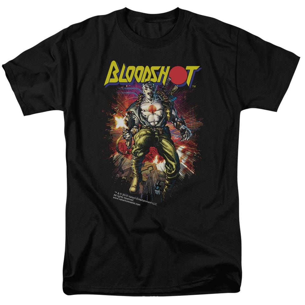 Bloodshot Vintage Bloodshot Adult Regular Fit T-Shirt