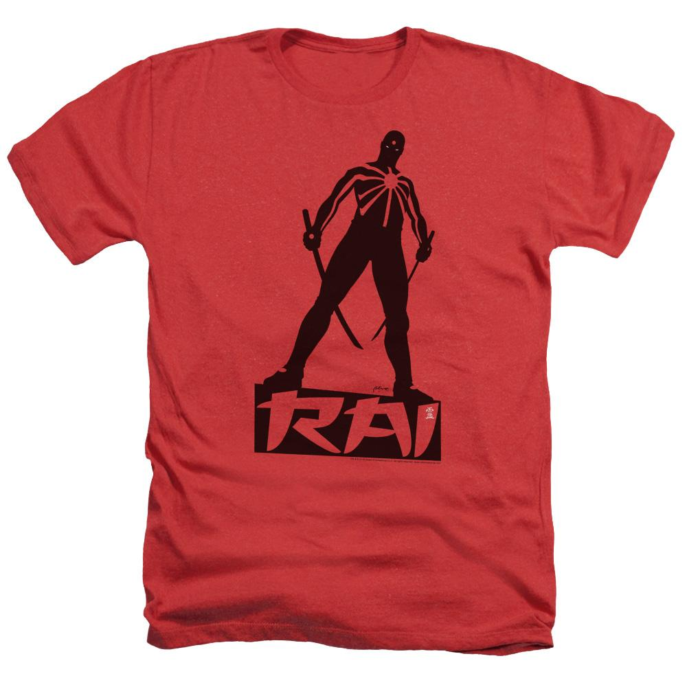 Rai Silhouette Adult Regular Fit Heather T-Shirt