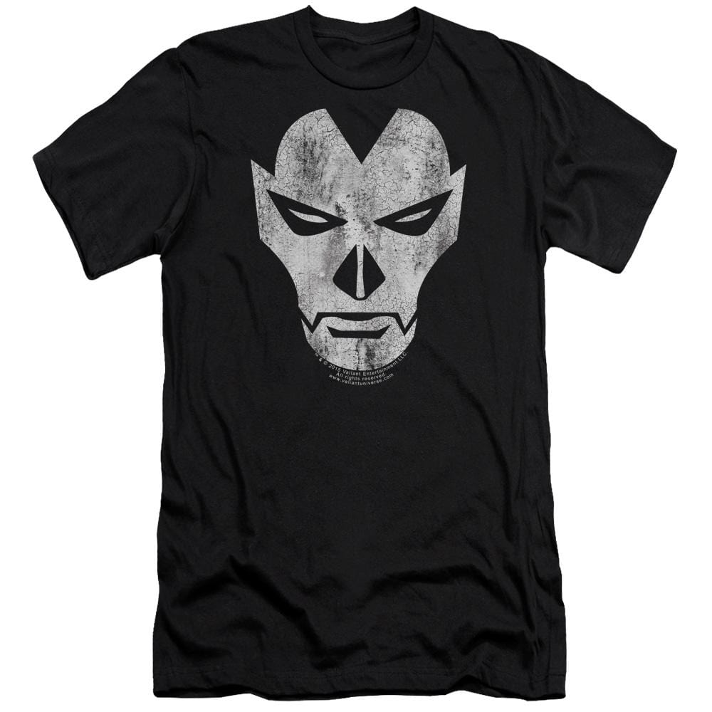 Shadowman Face Adult Slim Fit T-Shirt