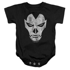 Shadowman Face Baby Onesie