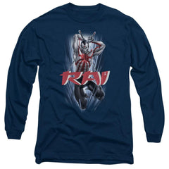 Rai Leap And Slice Adult Long Sleeve T-Shirt