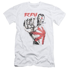 Rai Sword Drawn Adult Slim Fit T-Shirt