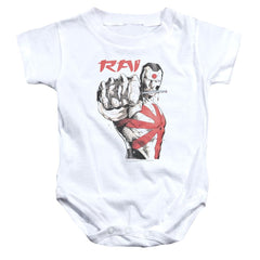 Rai Sword Drawn Baby Onesie