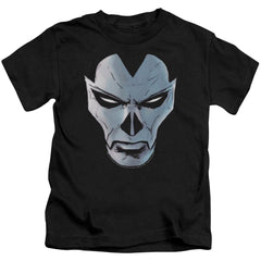 Shadowman Comic Face Kids T-Shirt