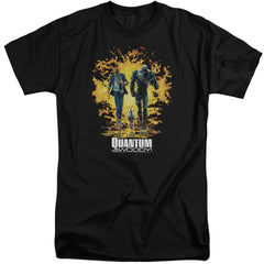 Quantum And Woody Explosion Adult Tall Fit T-Shirt