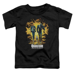 Quantum And Woody Explosion Toddler T-Shirt