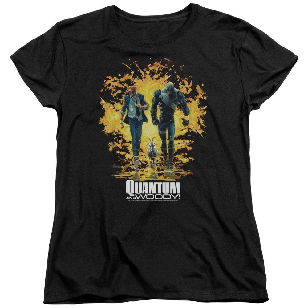 Quantum And Woody Explosion Women's T-Shirt