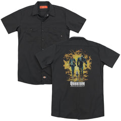 Quantum And Woody Explosion Adult Work Shirt