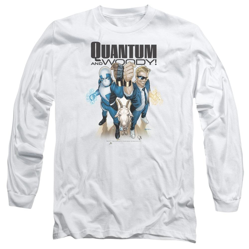 Quantum And Woody Quantum And Woody Adult Long Sleeve T-Shirt