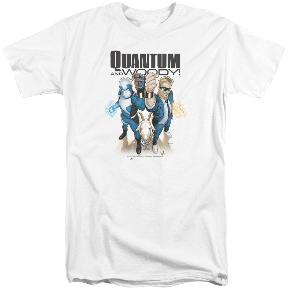 Quantum And Woody Quantum And Woody Adult Tri-Blend T-Shirt