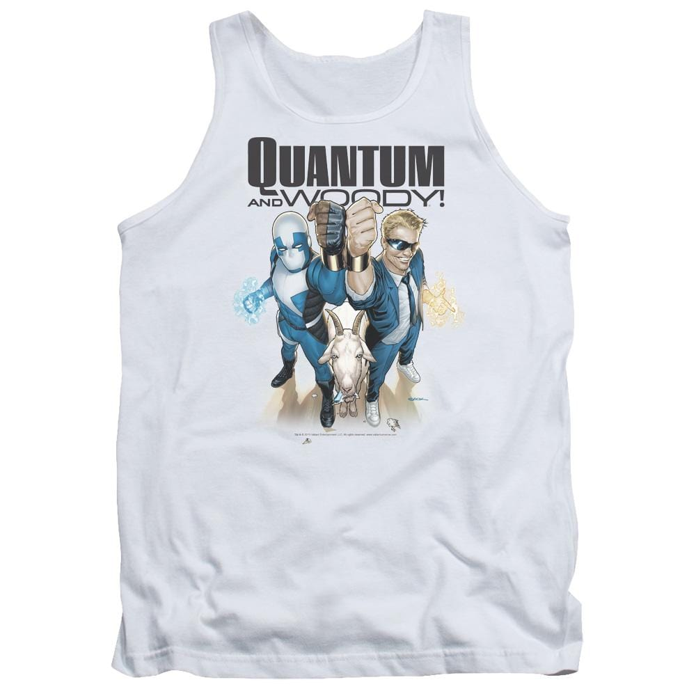 Quantum And Woody Quantum And Woody Adult Tank Top