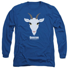 Quantum And Woody Goat Head Adult Long Sleeve T-Shirt