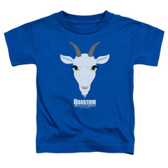 Quantum And Woody Goat Head Toddler T-Shirt