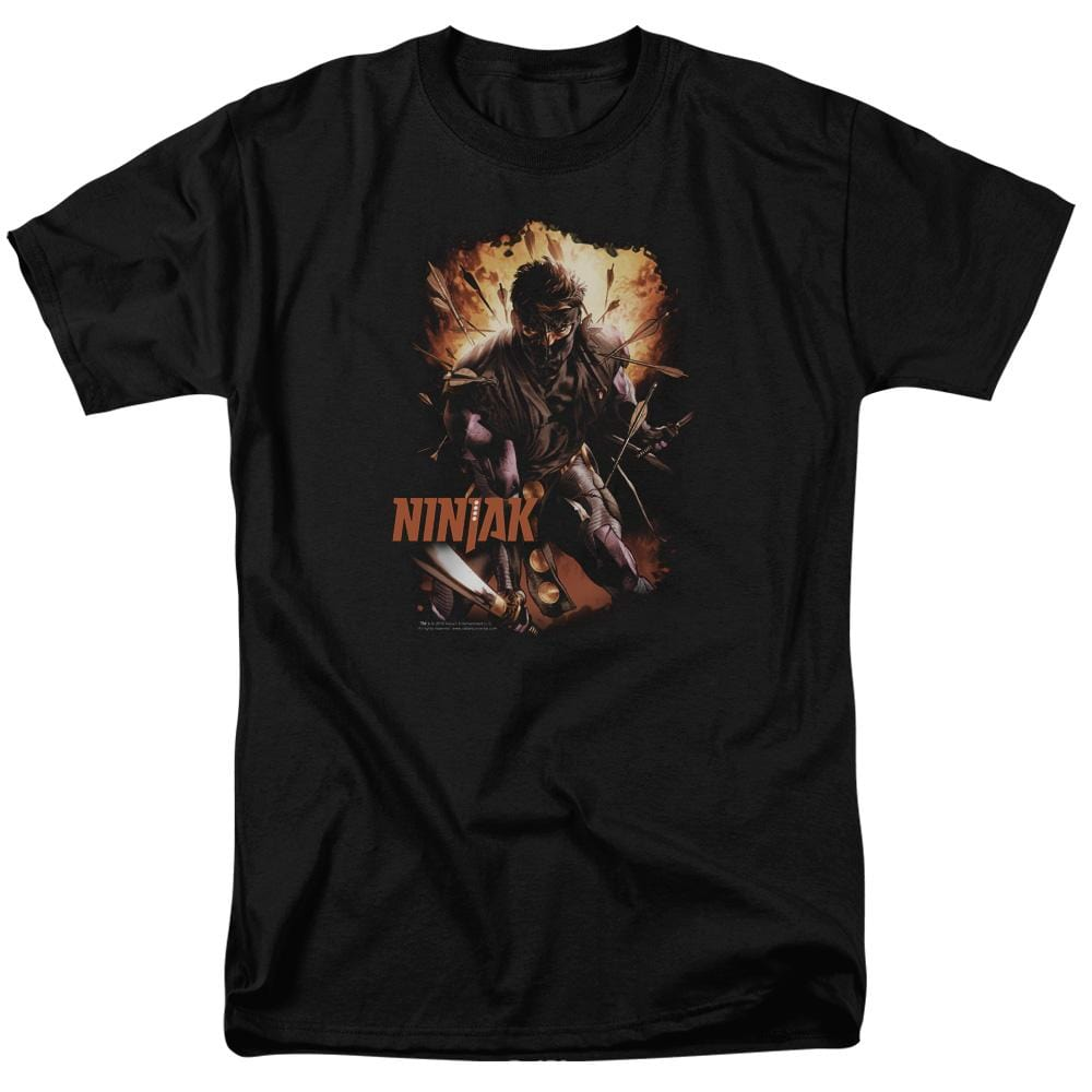 Ninjak Fiery Ninjak Adult Regular Fit T-Shirt