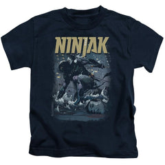 Ninjak Rainy Night Ninjak Kids T-Shirt