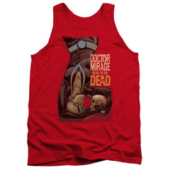 Doctor Mirage Talks To The Dead Adult Tank Top