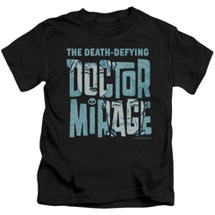 Doctor Mirage Character Logo Kids T-Shirt