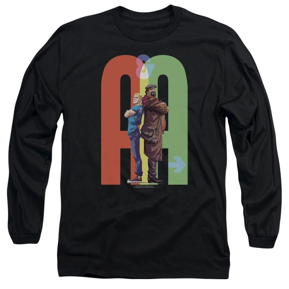 Archer & Armstrong Back To Bak Adult Long Sleeve T-Shirt