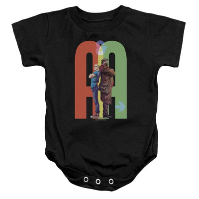 Archer & Armstrong Back To Bak Baby Bodysuit