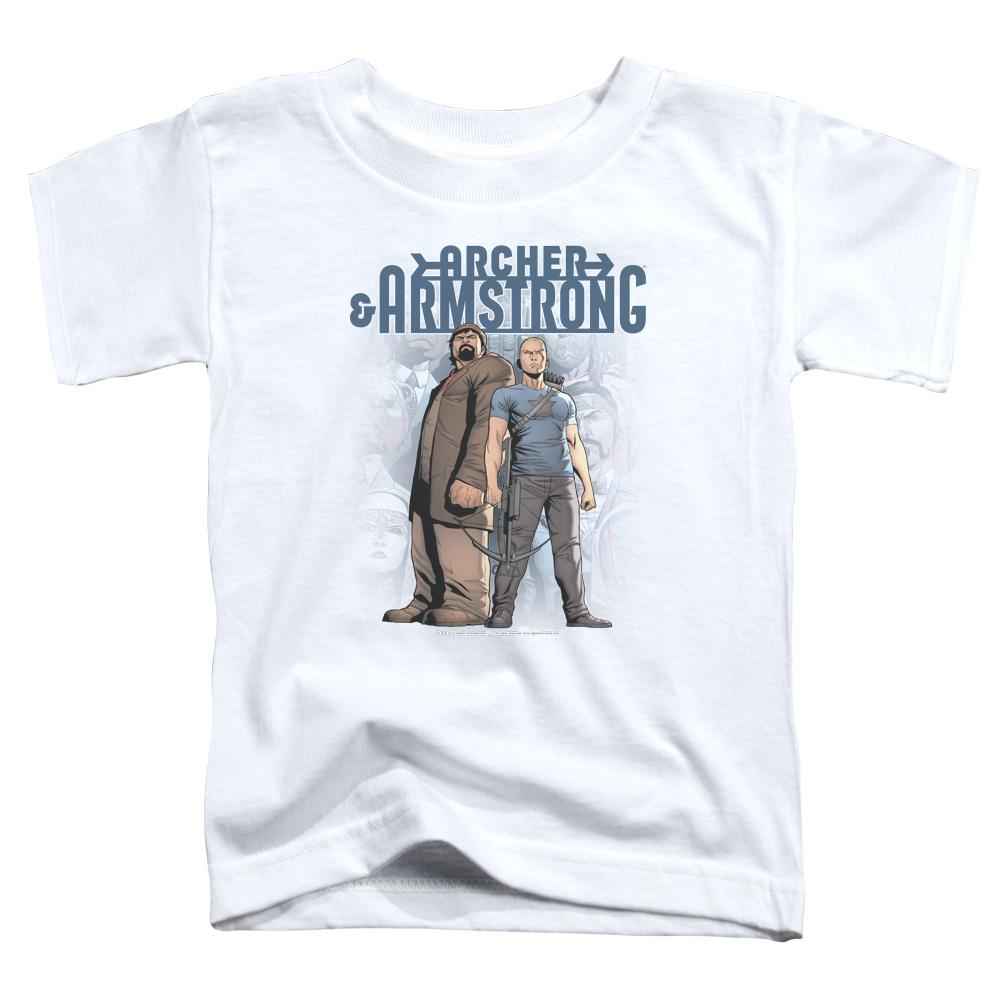 Archer & Armstrong Two Against All Toddler T-Shirt