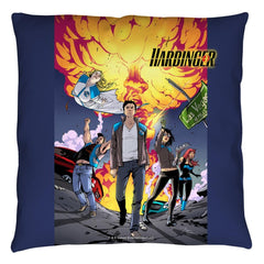 Harbinger - Explosive Throw Pillow