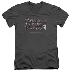 Fantastic Beasts - Wanded Adult V-Neck T-Shirt