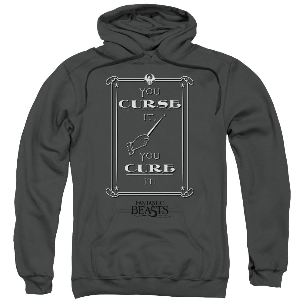 Fantastic Beasts - Curse It Adult Pull-Over Hoodie