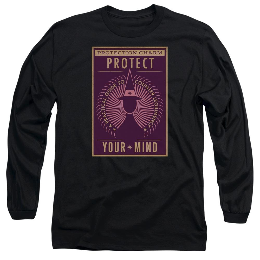Fantastic Beasts - Protect Your Mind Adult Long Sleeve T-Shirt