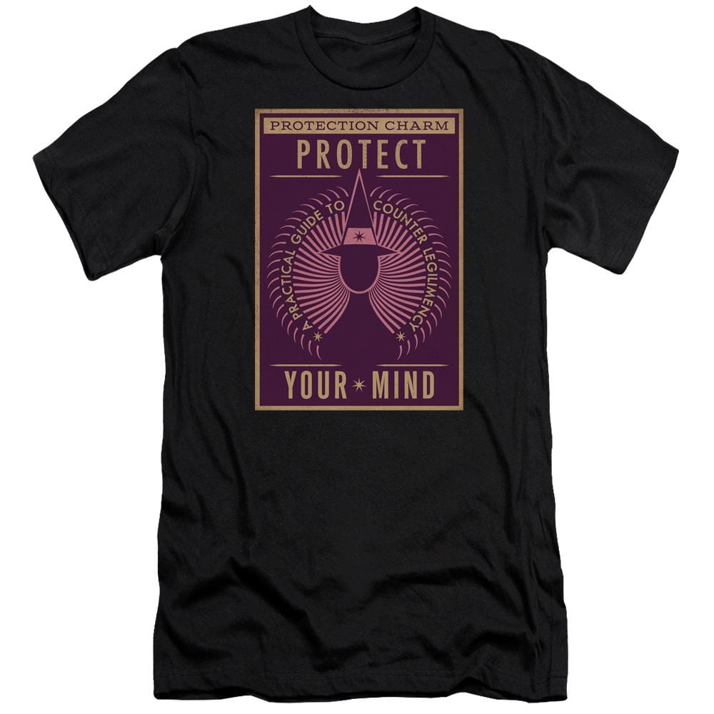 Fantastic Beasts - Protect Your Mind Premium Adult Slim Fit T-Shirt