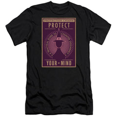 Fantastic Beasts Protect Your Mind Adult Slim Fit T-Shirt
