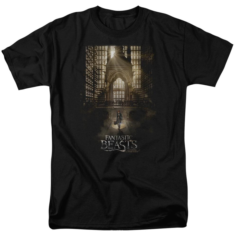 Fantastic Beasts - Poster Adult Regular Fit T-Shirt