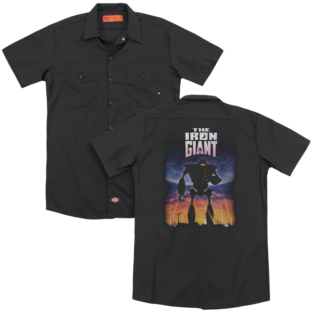 Iron Giant Poster Adult Work Shirt