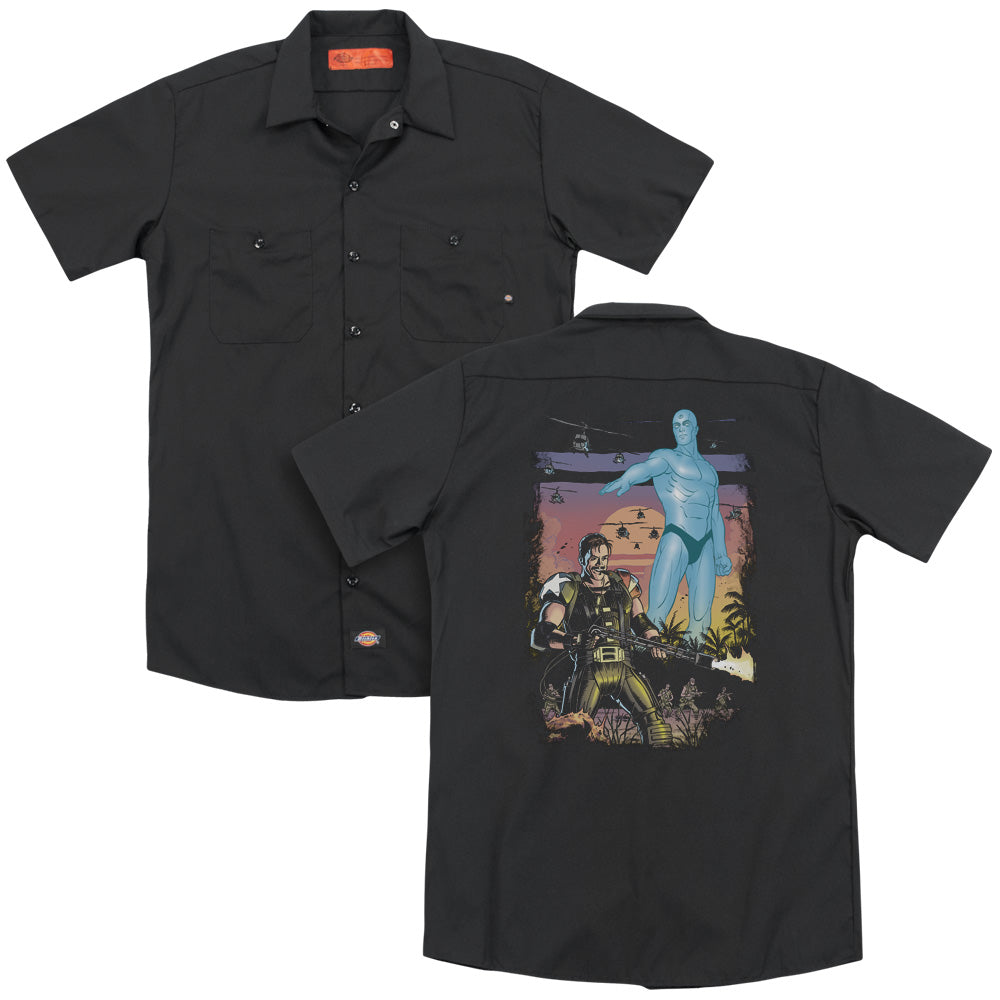 Watchmen Winning The War Adult Work Shirt
