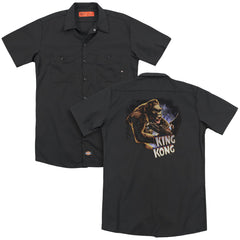King Kong Kong And Ann Adult Work Shirt