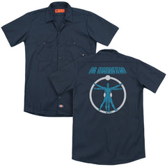 Watchmen Anatomy Adult Work Shirt