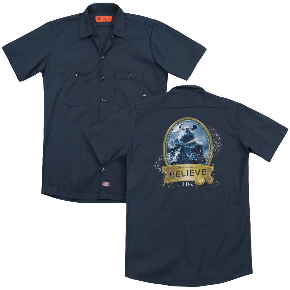Polar Express True Believer Adult Work Shirt
