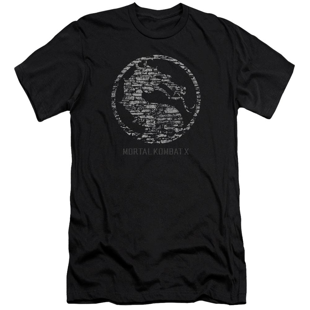Mortal Kombat X Stone Seal Premium Adult Slim Fit T-Shirt